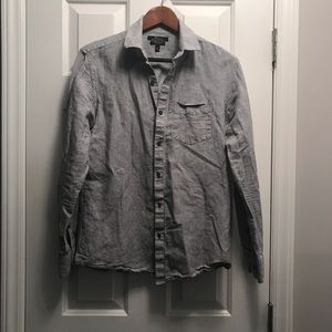 Marc Anthony Slim Fit button down/ Small/ Gray